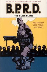 BPRD Trade Paperback 05 The Black Flame TPB Graphic Novel